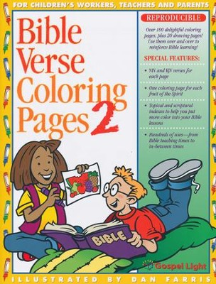 Bible Verse Coloring Pages #2  -