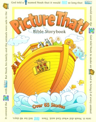 Picture That! Bible Storybook  - Slightly Imperfect  -     By: Tracy L. Harrast