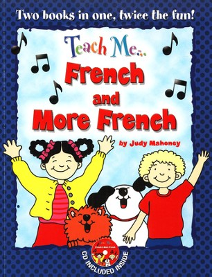 Teach Me French & More French Paperback & Audio CD  -