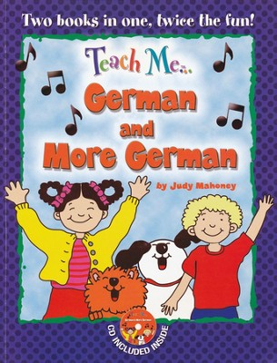 Teach Me German & More German Paperback & Audio CD  -