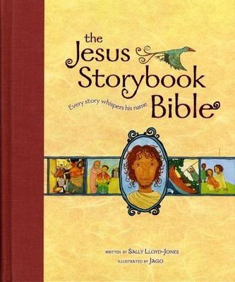 The Jesus Storybook Bible: Every Story Whispers His Name, Large Trim - Slightly Imperfect  -     By: Sally Lloyd-Jones