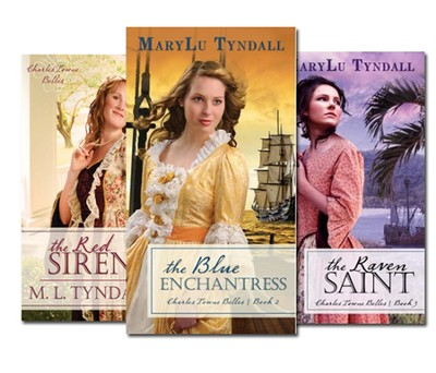 Charles Towne Belles Series Volumes 1, 2, and 3  -     By: MaryLu Tyndall