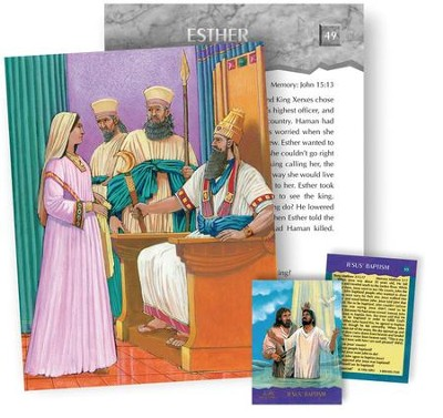 Bible Story Cards: Super Cards (Mini-posters), Old Testament  -