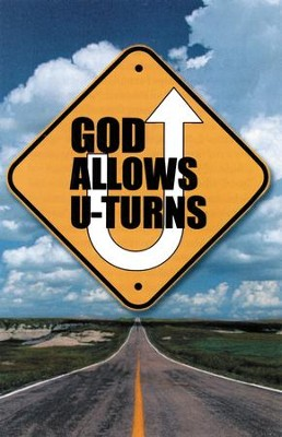 God Allows U-Turns (NIV), Pack of 25 Tracts   -