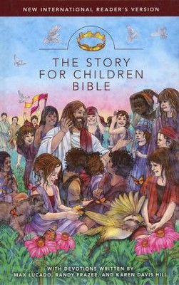 The Story for Children Bible, NIrV--hardcover   -