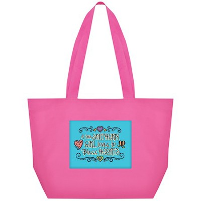A True Southern Girl Loves To Bless Hearts Tote  -