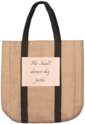 He Shall Direct Thy Paths Tote  -