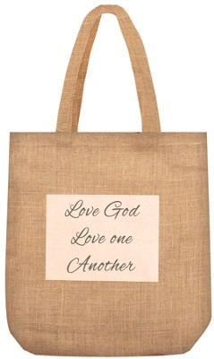 Love God, Love One Another Tote  -