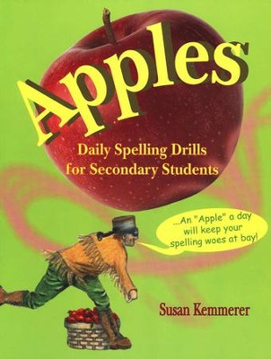 Apples: Daily Spelling Drills for Secondary Students   -     By: Susan Kemmerer