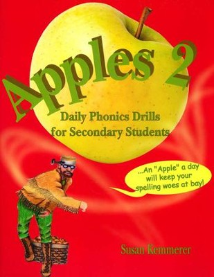 Apples 2: Daily Phonics Drills for Secondary Students  -     By: Susan Kemmerer