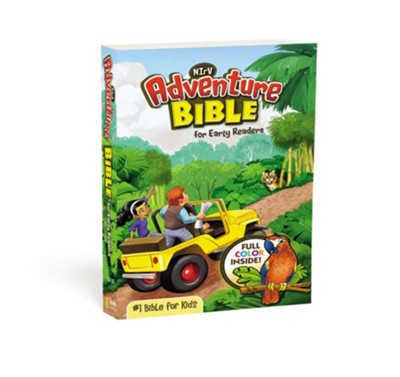 NirV Adventure Bible for Early Readers, Blue  -     By: Lawrence O. Richards