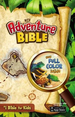 NIV Adventure Bible, Hardcover, Jacketed  -     By: Lawrence O. Richards