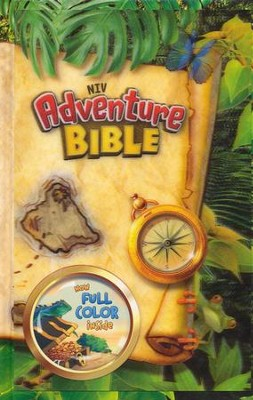 NIV Adventure Bible, Lenticular (3D Motion), Hardcover  -     By: Lawrence O. Richards