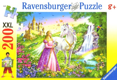 Princess, 200 Piece Puzzle   -