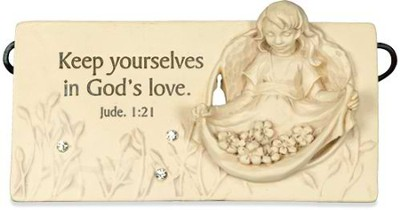 Keep Yourselves in God's Love Plaque  -