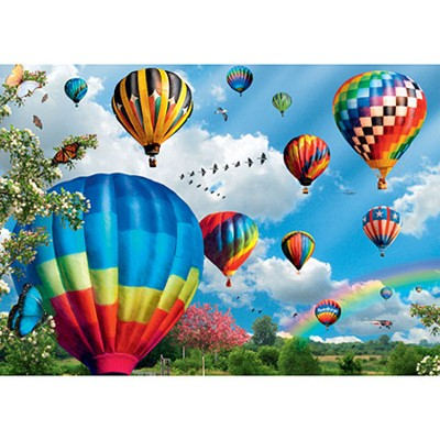 Up, Up & Away, 1000 Piece Puzzle   -