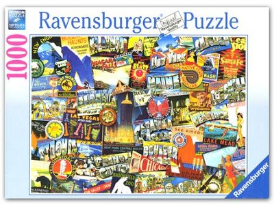 Road Trip USA, 1000 Piece Puzzle   -