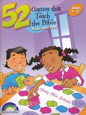 52 Games that Teach the Bible  -     By: Nancy Williamson