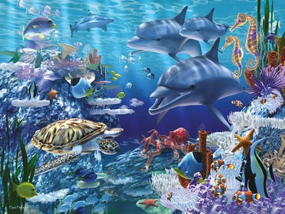 Sea Life Super Floor Puzzle   -