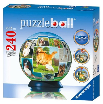 A Dog's World Puzzleball, 240 Pieces   -