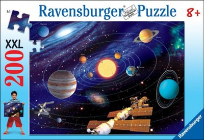 The Solar System, 200 Piece Puzzle   -