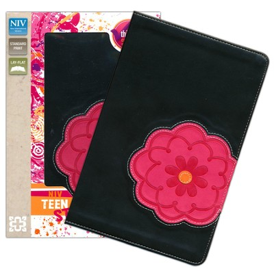 NIV Teen Study Bible, Imitation Leather, Flower  -     By: Lawrence O. Richards, Sue W. Richards