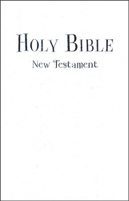 NIV Tiny Testament Bible, White  -
