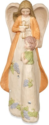 Guiding Prayer Angel, Communion Figurine  -