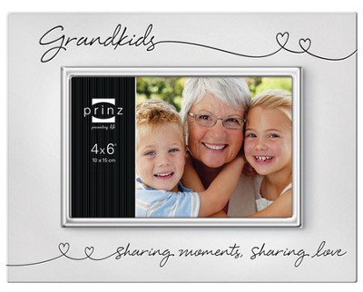 Grandkids, Sharing Moments, Sharing Love Photo Frame  -