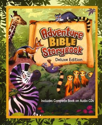 Adventure Bible Storybook Deluxe Edition  -     By: Catherine DeVries