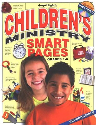Children's Ministry Smart Pages w/CD-ROM  -