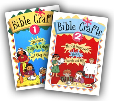 Crafts for Kids, Volumes 1 & 2   -     By: Neva Hickerson