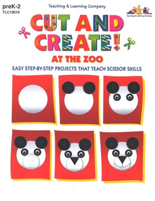 Cut and Create! At the Zoo   -
