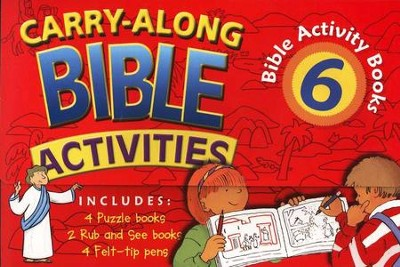 Carry-Along Bible Activities                                                               -