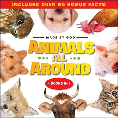 Animals All Around  -     By: Zondervan