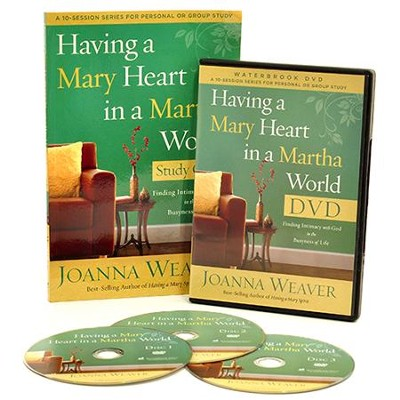 Having a Mary Heart in a Martha World, DVD Curriculum Kit   -     By: Joanna Weaver