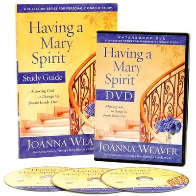 Having a Mary Spirit DVD Study Pack: Allowing God to Change Us from the Inside Out  -     By: Joanna Weaver