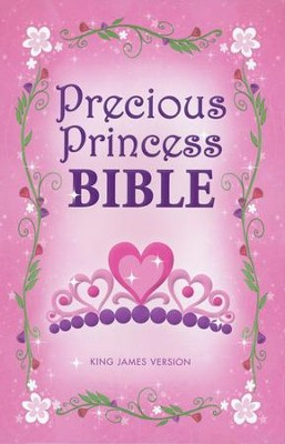 KJV Precious Princess Bible, Hardcover  -     By: Zondervan
