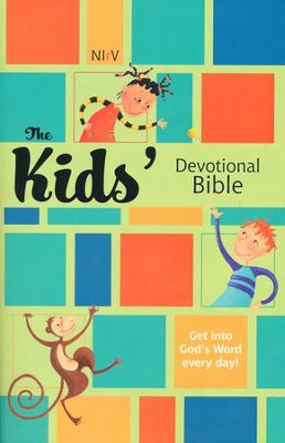 The Kids' Devotional Bible, Paperback   -