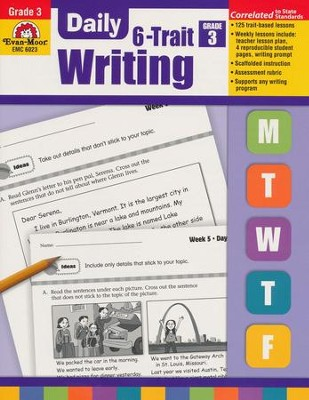 Daily 6-Trait Writing, Grade 3  -