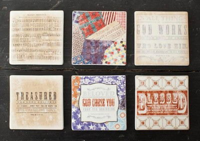 Redeemed Coasters, Set of 6   -