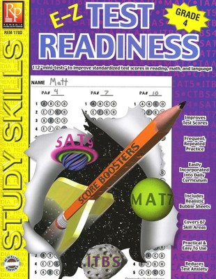 E-Z Test Readiness Grade 4   -