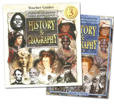 Core Knowledge History & Geography Grade 3 Homeschool  Bundle  -