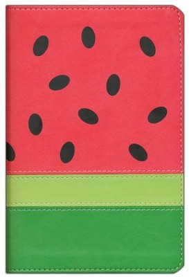 NIV Fruit of the Spirit Bible Collection, Italian Duo-Tone, Watermelon  -