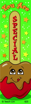 You Are Special, Scratch N' Sniff Bookmarks (Carmel Apple)  -