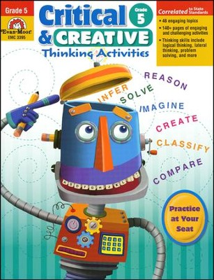 Critical and Creative Thinking Activities, Grade 5  -