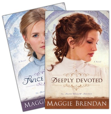 Blue Willow Brides Series, Vols. 1-2   -     By: Maggie Brendan