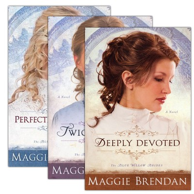 The Blue Willow Brides Series, Volumes 1-3  -     By: Maggie Brendan