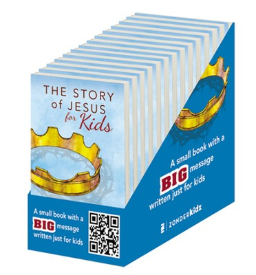 The Story of Jesus for Kids: Experience the Life of Jesus As One Seamless Story, 20 Pack  -