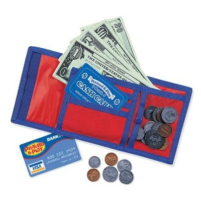 Pretend & Play Cash 'n' Carry Wallet  -
